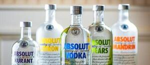 Vodky Absolut